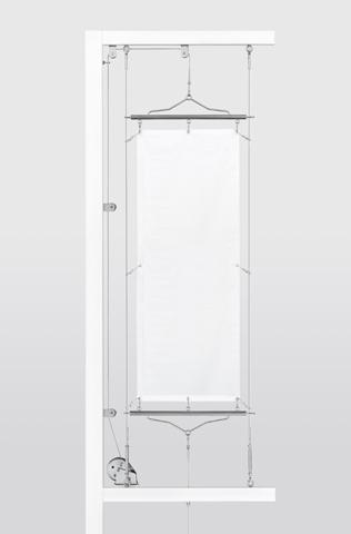 懸垂幕装置システム 自立型 (セット)