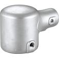 鉄棒継手 HシリーズⅡ型(塗装なし) 端部