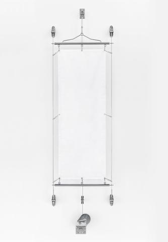 懸垂幕装置システム 壁付型 (セット)